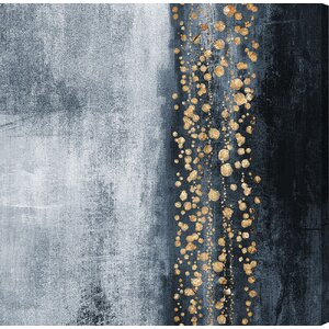 'Down the River' Painting Print on Wrapped Canvas by Willa Arlo Interiors