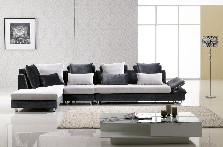hokku designs uptown sectional  reviews  wayfair - defaultname