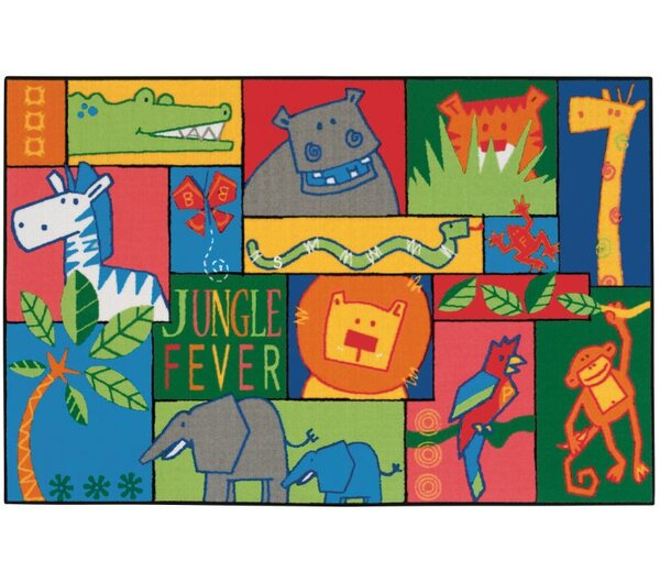 Jungle Fever Kids Area Rug by Kids Value Rugs