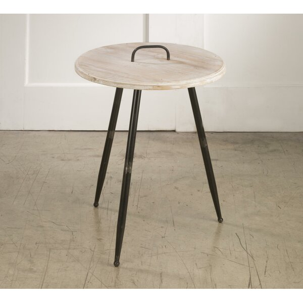 Polzin End Table by Union Rustic