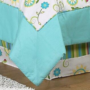 Layla Queen Bed Skirt by Sweet Jojo Designs
