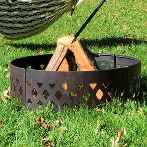 steel fire ring - Fire Rings