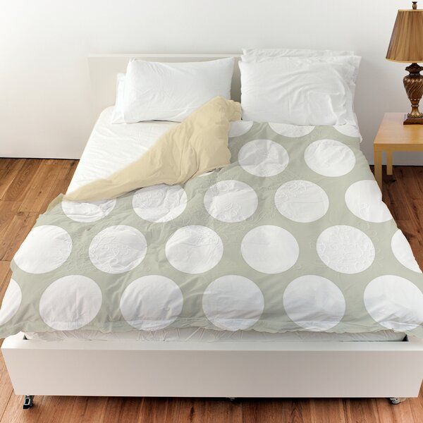 Amina Polka Dot Duvet Cover by Manual Woodworkers & Weavers