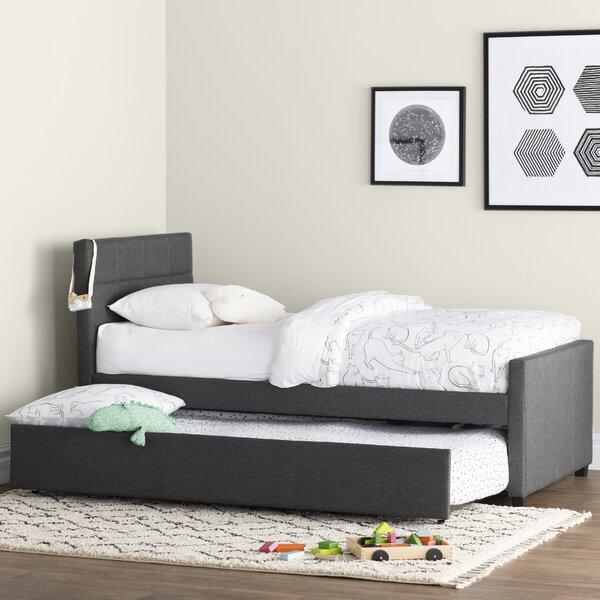Algrenon Twin Platform Bed with Trundle [Mack Milo]