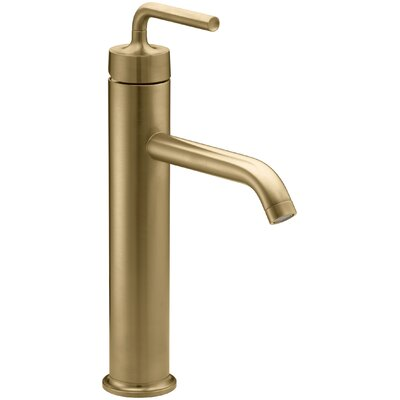 Sink Faucet Drain Moderne Brushed Gold photo