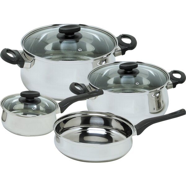 Deliss 7 Piece Stainless Steel Cookware Set by Magefesa