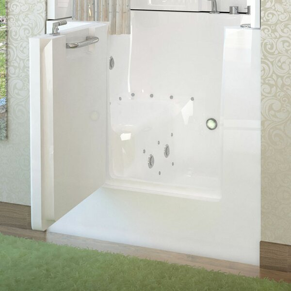 Mesa 40 x 31 Whirlpool & Air Jetted Bathtub by Therapeutic Tubs