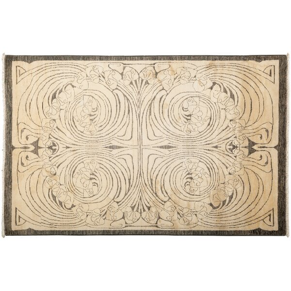 One-of-a-Kind Shalimar Hand-Knotted Beige Area Rug by Darya Rugs