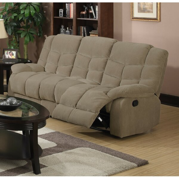 Heaven on Earth Reclining Sofa by Sunset Trading