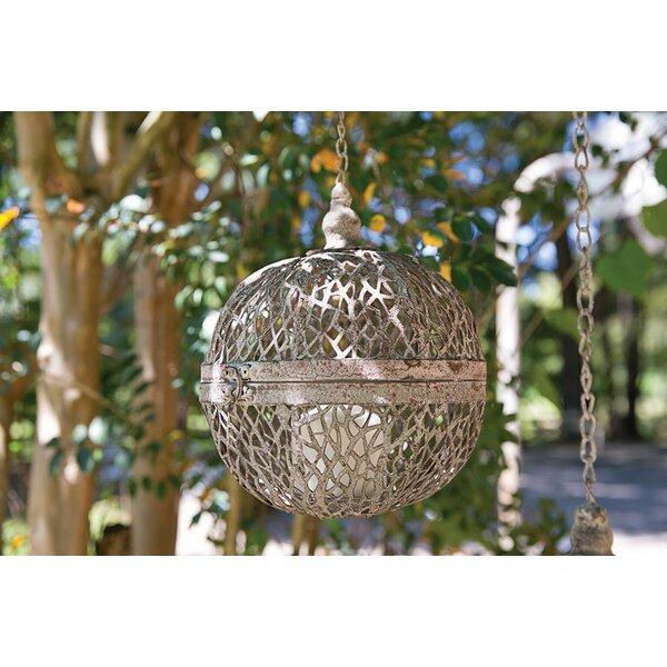 Metal Outdoor Lantern by Mistana
