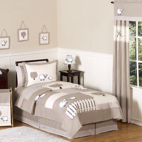 Little Lamb Full/Queen Comforter Set by Sweet Jojo Designs