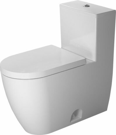 Me by Starck Elongated One-Piece Toilet with High Efficiency Flush (Seat Not Included) by Duravit