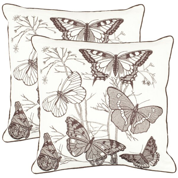 Roberto Cotton Throw Pillow (Set of 2) by Safavieh