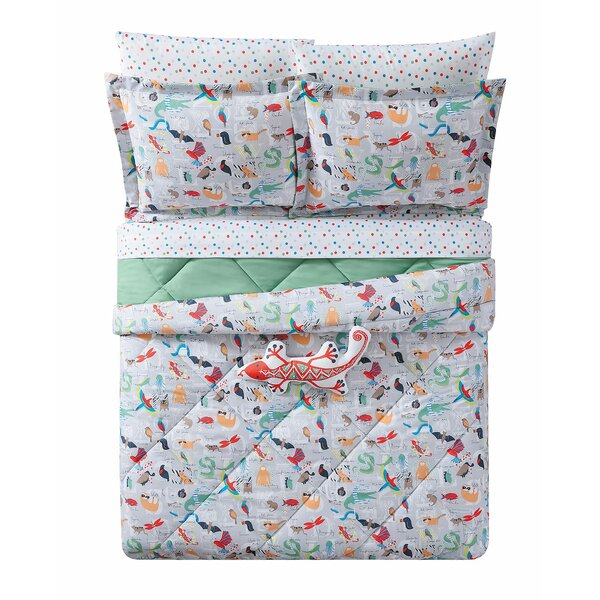 Holm Animal Alphabet Comforter Set by Zoomie Kids