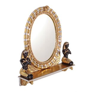 Best Reviews Egyptian  Statue Vanity Mirror ByDesign Toscano