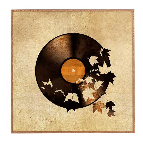 Autumn Song Framed Graphic Art by Latitude Run