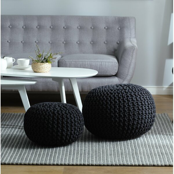 Conrad Pouffe by Home Loft Concepts