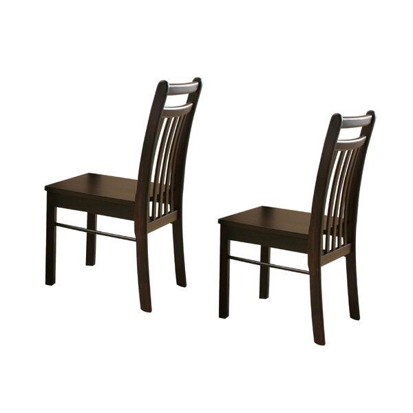Malchow Solid Wood Side Dining Chair (Set of 2) by Winston Porter