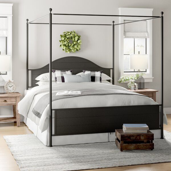 Jerri Canopy Bed by Laurel Foundry Modern Farmhouse