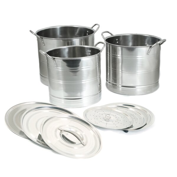 Stainless Steel Stockpot Set by Cook Pro