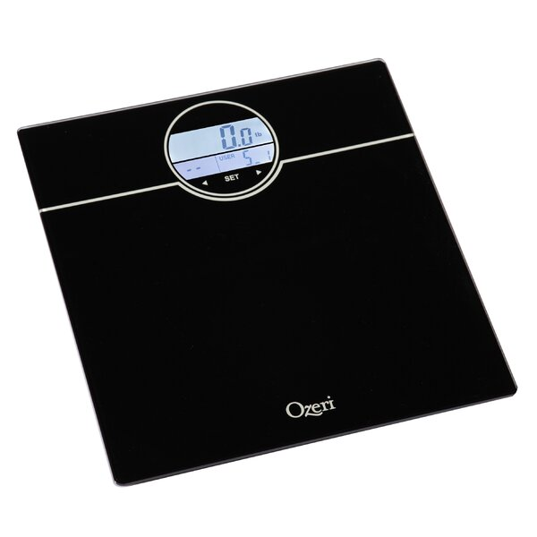 WeightMaster 400 lbs Digital Bath Scale with BMI and Weight Change Detection by Ozeri