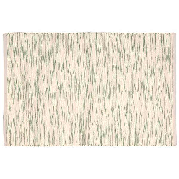 Astley Green/Cream Area Rug by Highland Dunes