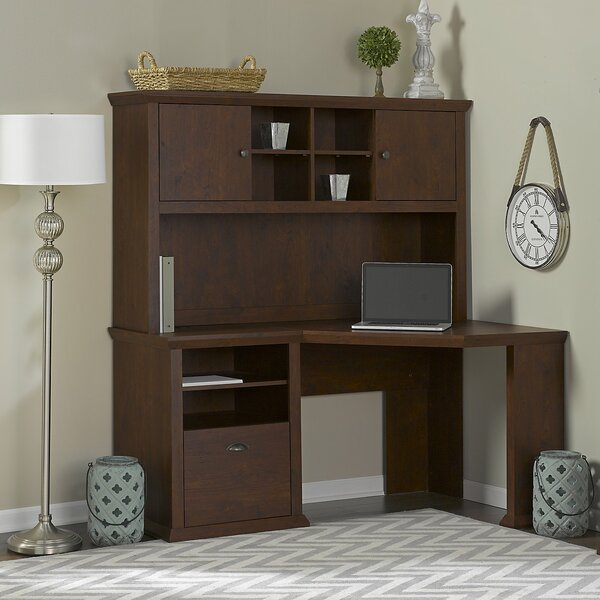Ferrell 3 Piece Wood Desk Office Suite by Three Posts