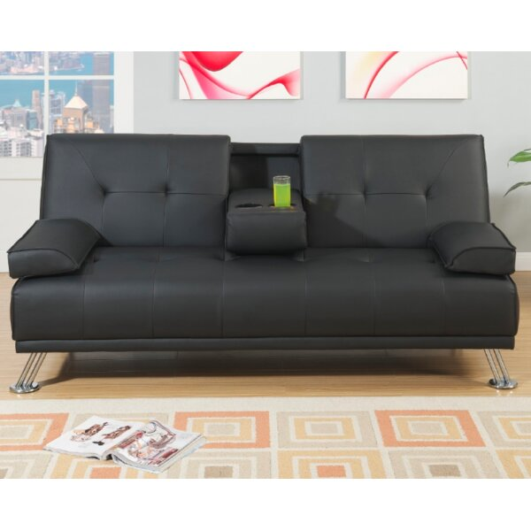 #2 Ashdown Convertible Sofa By Ebern Designs Cool