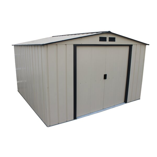 Eco 10 ft. 7 in. W x 9 ft. 11 in. D Metal Storage Shed by Duramax Building Products