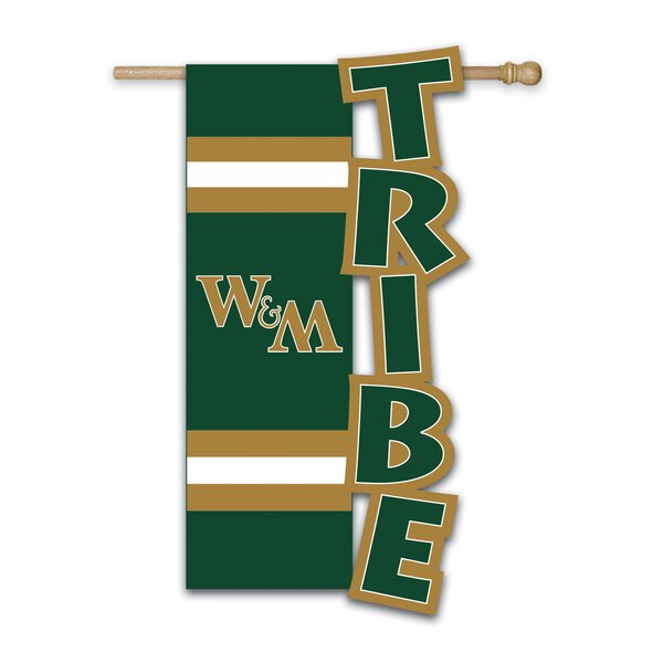 William & Mary Garden Flag by Team Sports America