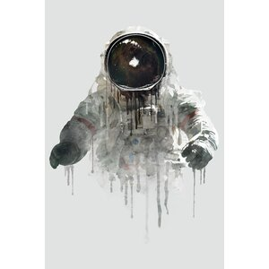 Astronaut II Graphic Art on Wrapped Canvas by East Urban Home