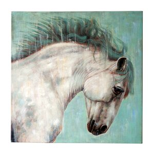 Horse' Painting on Canvas by Jeco Inc.