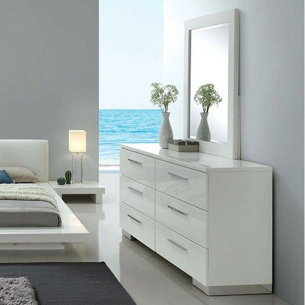 Florissant 6 Drawer Double Dresser by Orren Ellis Orren Ellis