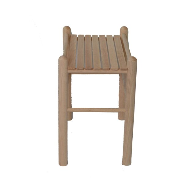 Solid Wood Side Table by Beecham Swings