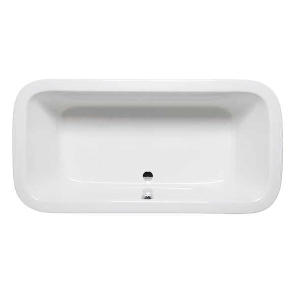 Nerissa 72 x 36 Drop in Bathtub by Americh