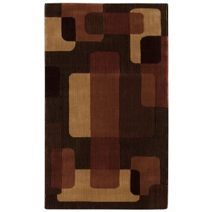 Reviews Annelise Black/Brown/Beige Area Rug By Orren Ellis