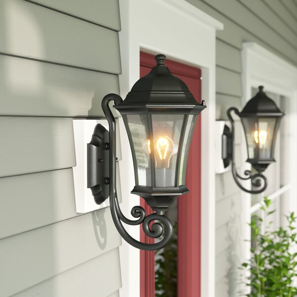 Carnanreagh 1-Light Outdoor Sconce by Astoria Grand