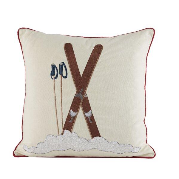 Ski Time Pillow Cover by Birch Lane™