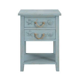 Emig End Table with Storage ByHighland Dunes