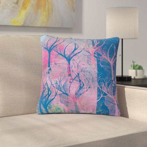 Marianna Tankelevich Fantasy Garden Outdoor Throw Pillow by East Urban Home