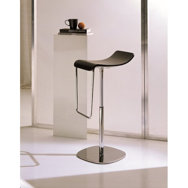 Gas Adjustable Height Swivel Bar Stool by Bontempi Casa