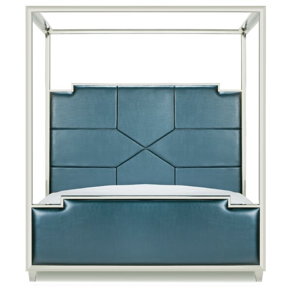 Westford Upholstered Canopy Bed By Everly Quinn by Everly Quinn Today Only Sale