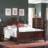 Chalus Four Poster Bed byAstoria Grand