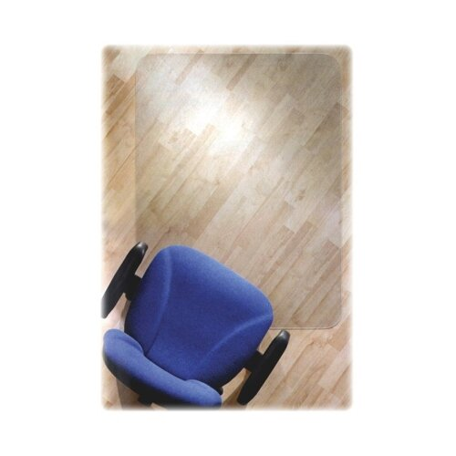 Cleartex Ultimat Polycarbonate Chair Mat For Hard Floors, 48 X 79 by Floortex