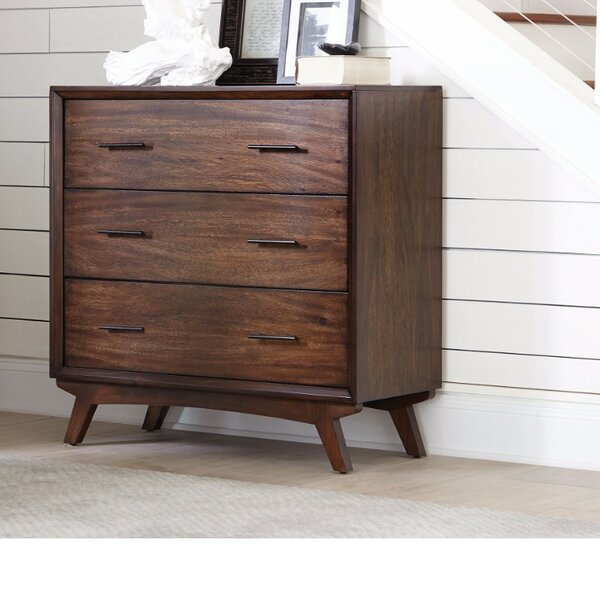 Damien 3 Drawer Accent Chest by George Oliver