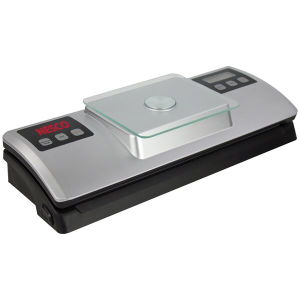 Vacuum Sealer with Digital Scale by Nesco