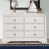 Crampton 6 Drawer Double Dresser by Birch Lane™ Heritage