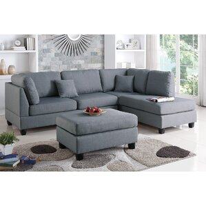 Hemphill Reversible Sectional  sc 1 st  Wayfair : sectional sof - Sectionals, Sofas & Couches