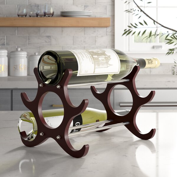 Frint and Walt 6 Bottle Tabletop Wine Rack by Ebern Designs