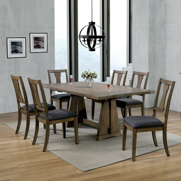 Gilchrist 7 Piece Dining Set By Loon Peak